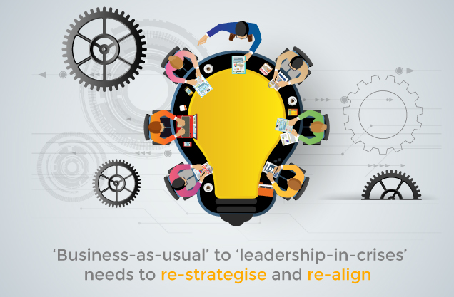 ADAPTING TO THE NEW NORMAL: Evolving new strategies to challenge the business status quo.